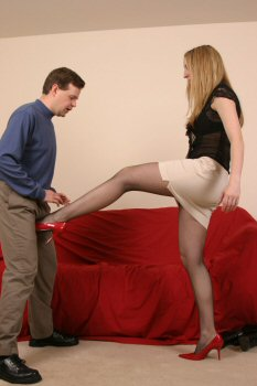 Very very hard ballbusting session from mistress deer - 4 5