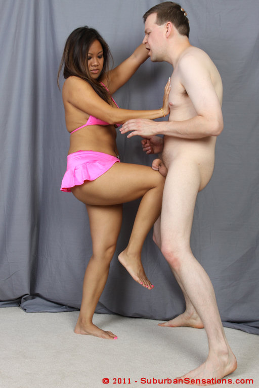 Black Women Ballbusting